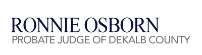 Dekalb County Probate Judge Logo